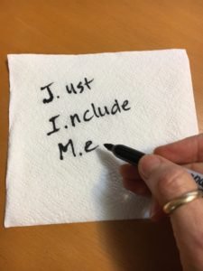 Just Include Me